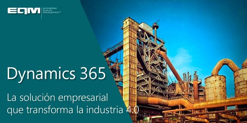 Industria 4.0 con EQM