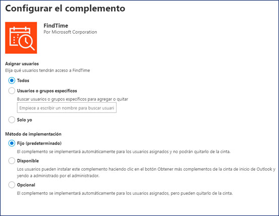 microsoft-365-findtime-configurar-nuevo-complemento