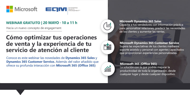 Dynamics 365 Sales y Dynamics 365 Customer Service