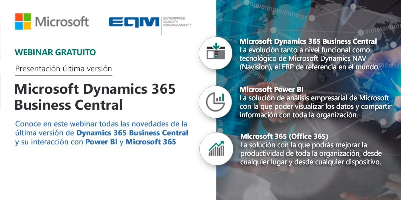 Optimización y procesos empresariales con Business Central