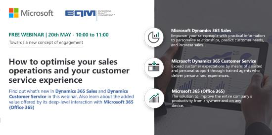 webinar d365 customer service