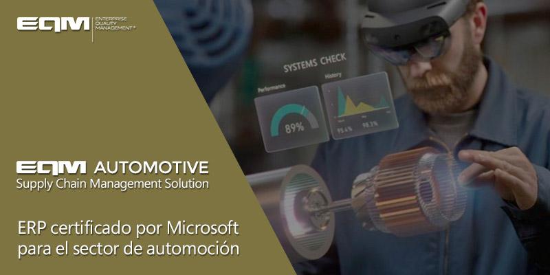 EQM Automotive SCM | ERP para automoción