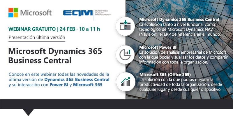 Webinar Microsoft Dynamics 365 Business Central