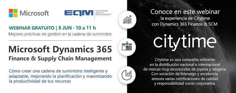 webinar dynamics 365 finance & supply chain management