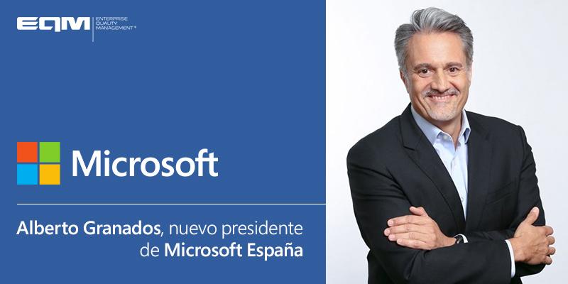 Nuevo presidente de Microsoft España: Alberto Granados