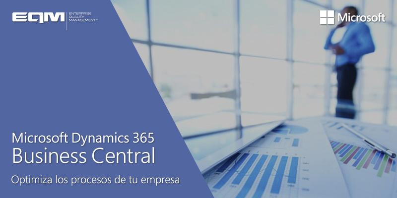 ERP para empresas Microsoft 365 Business Central