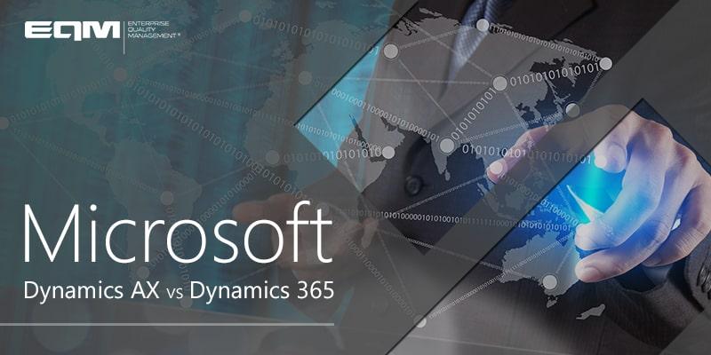 Microsoft Dynamics AX vs Dynamics 365
