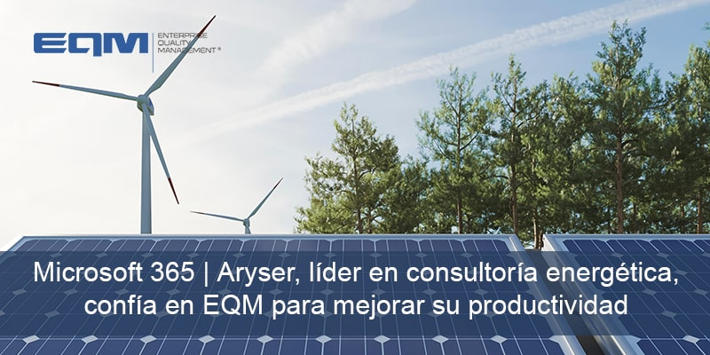 Aryser, líder en consultoría energética