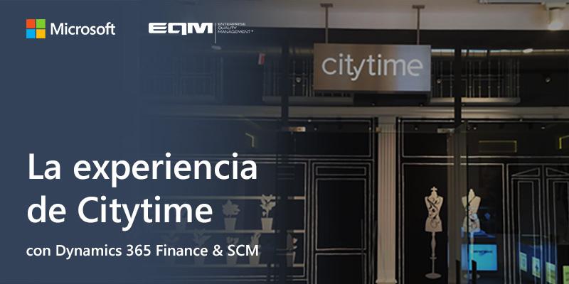 Citytime y Dynamics 365 para la transformación digital