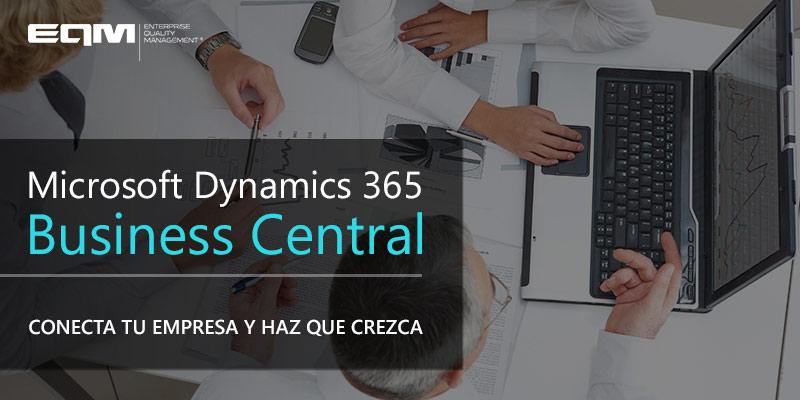 qué es Dynamics 365 Business Central