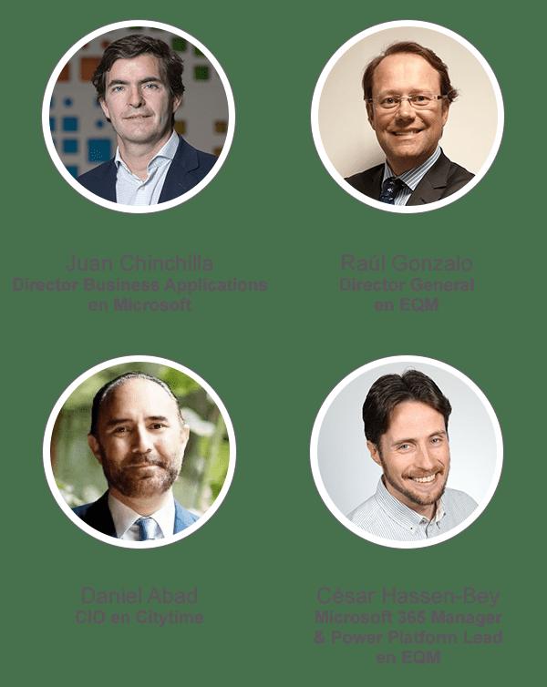 ponentes webinar EQM