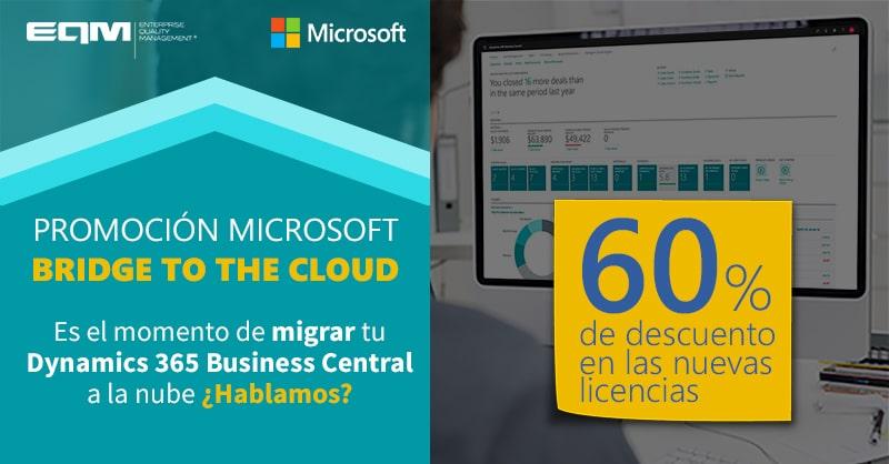 Promoción Bridge to the Cloud